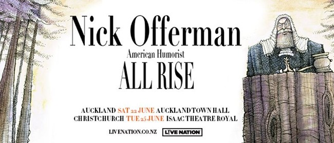 Nick Offerman – All Rise Tour
