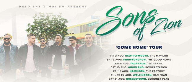 Sons of Zion – Come Home Tour