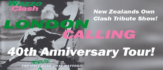 Wazzo Clash – London Calling 40th Anniversary Tour
