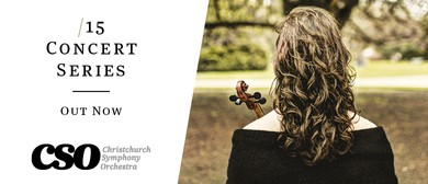 Christchurch Symphony Orchestra 2015 Season
