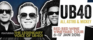 UB40 - Red Red Wine Vineyard Tour