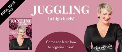 Lisa O'Neill - Juggling In High Heels Book Tour