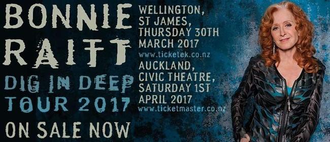 Bonnie Raitt Dig in Deep Tour