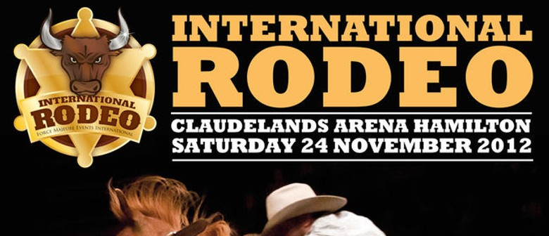 Win A Silver Double Pass to The International Rodeo in Hamilton