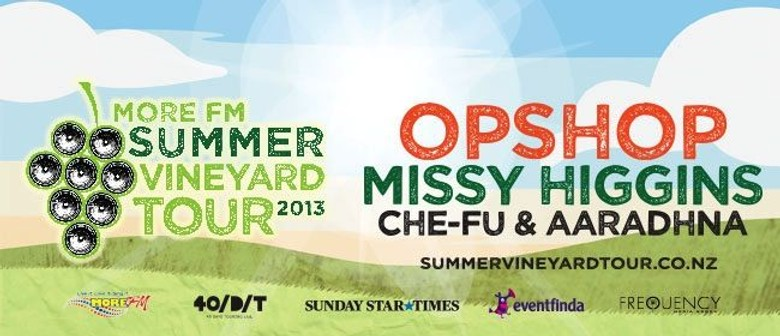 Win Tickets For You & 3 Friends To The More FM Summer Vineyard Tour + More!