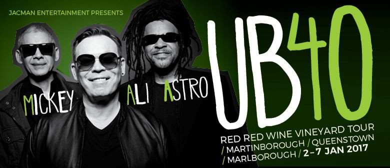 Get Ready to Toast 2017 with Some Red Red Wine and UB40's Greatest Hits