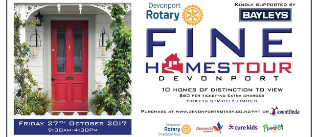 Fine Homes Tour of Devonport 2017