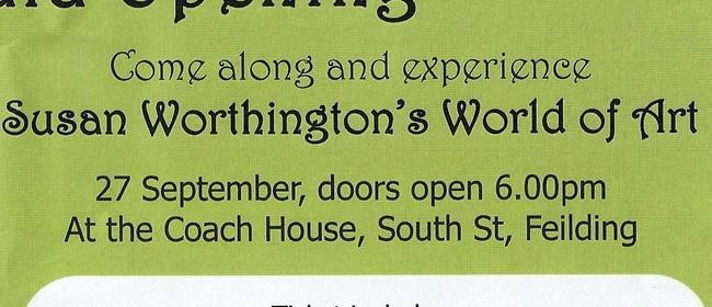 Susan Worthington's World of Art Grand Gala Opening