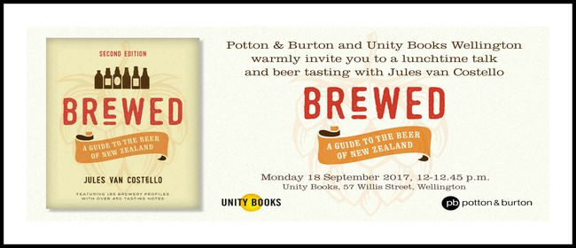 Lunchtime Event : Brewed (2nd Ed) by Jules van Costello