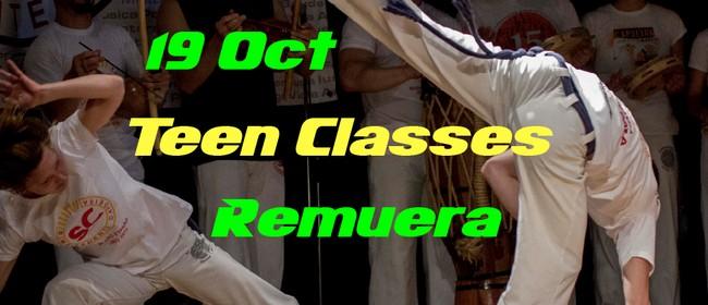 Teenagers Beginner Capoeira Classes