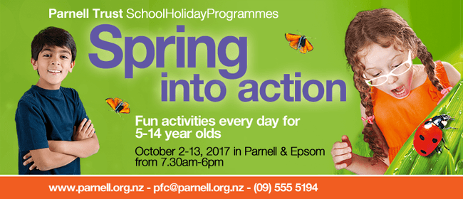 Rocket Ropes - Parnell Trust Holiday Programme