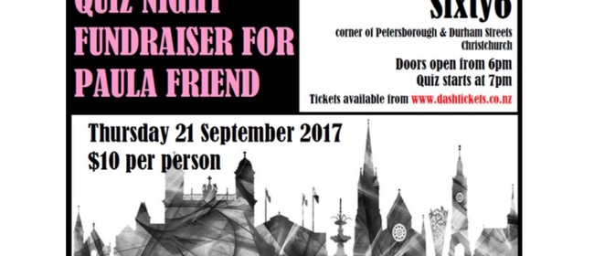Quiz Night Fundraiser for Paula Friend