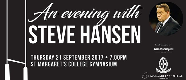 An Evening with Steve Hansen