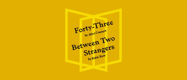 Book Launch: Between Two Strangers & Forty-Three