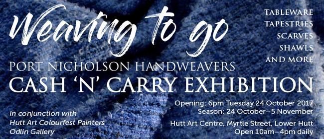 Port Nicholson Handweavers Cash 'n' Carry Exhibition