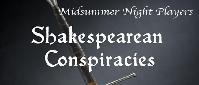 Shakespearean Conspiracies
