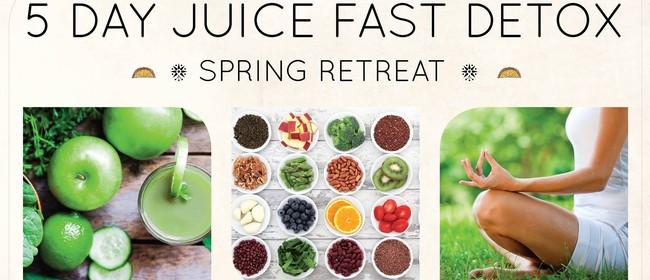 5 Day Spring Juice Detox