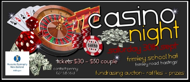 MDA Fundraising Casino Night
