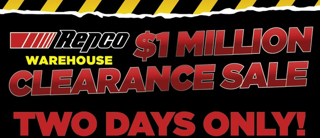 Repco $1 Million Warehouse Clearance Sale