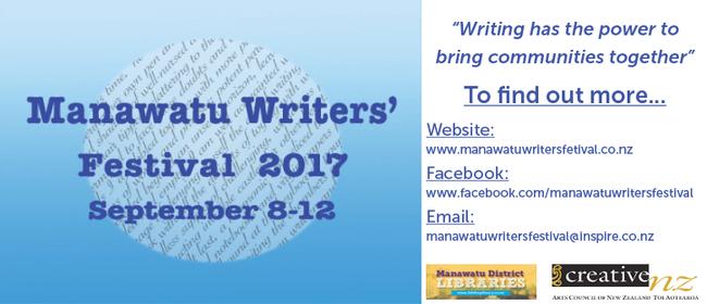 Manawatu Writers' Festival 2017