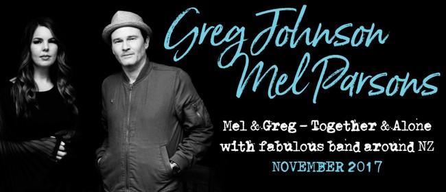 Greg Johnson & Mel Parsons