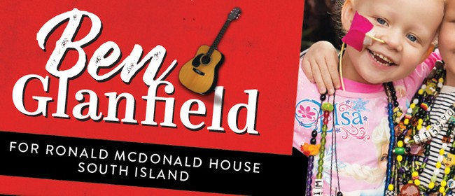 Ben Glanfield for Ronald McDonald House South Island