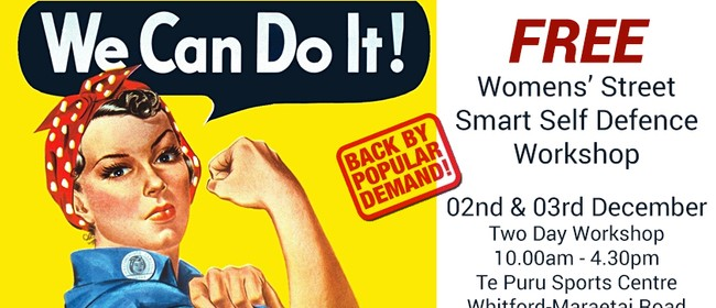 Women's Street Smart Free Self Defence 2 Day Workshop
