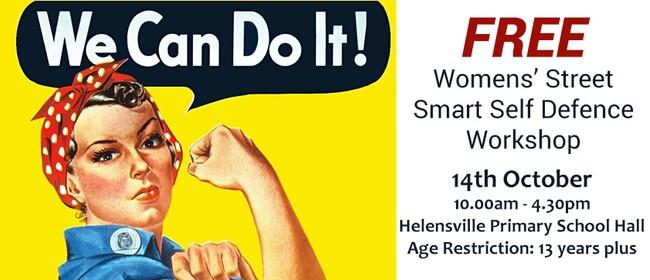 Women's Street Smart Free Self Defence Workshop