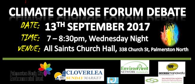 Climate Change Forum Debate