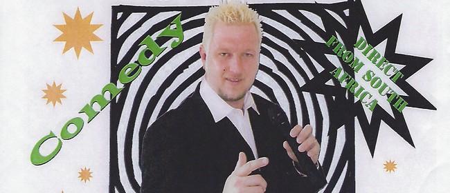 Wesley Upfold - Comedy Stage Hypnotist