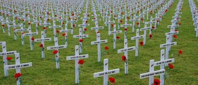 Passchendaele Field of Rememberance Service