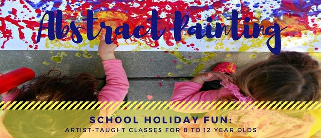 Abstract Painting - School Holiday Fun