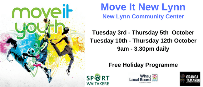 Move It Youth - New Lynn - Holiday Programme