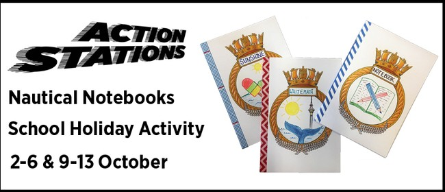 Holiday Activity - Action Stations: Nautical Notebooks
