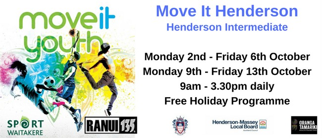Move It Youth - Holiday Programme