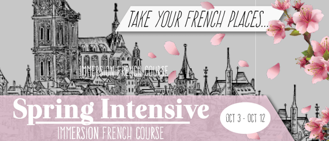 Spring Intensive French Course