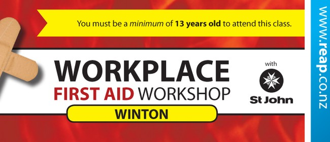 Winton St John Workplace First Aid Training