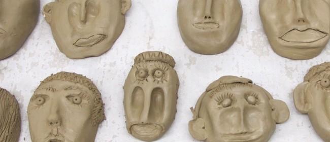 Educators Art Development: Self-Portraits In Clay