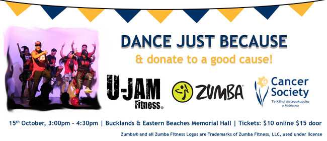 Dance for A Good Cause With U-Jam Fitness & Zumba