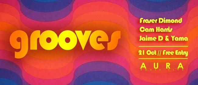Aura Grooves Ft. Jamie D & Yama, Cam Harris & Fraser Dimond