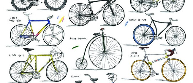 David Sparshott - Bicycle Prints