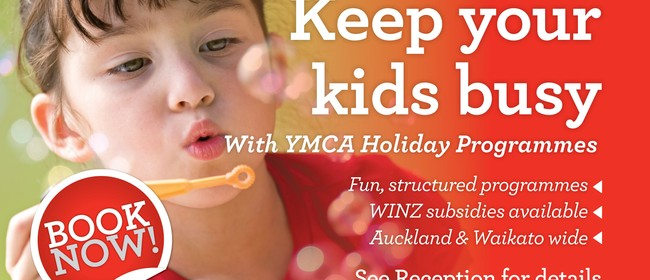 YMCA Holiday Programme Arts Day! 5yrs+