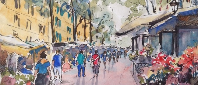 Impressionistic Watercolour With Ginette Wang