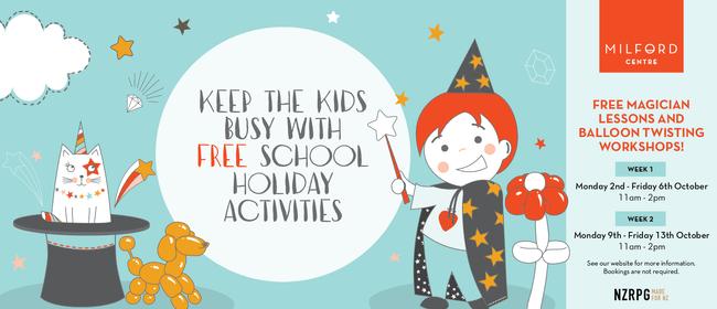 October School Holidays