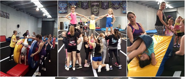 Give It a Go! 5-9yrs Zero Gravity Cheerleading