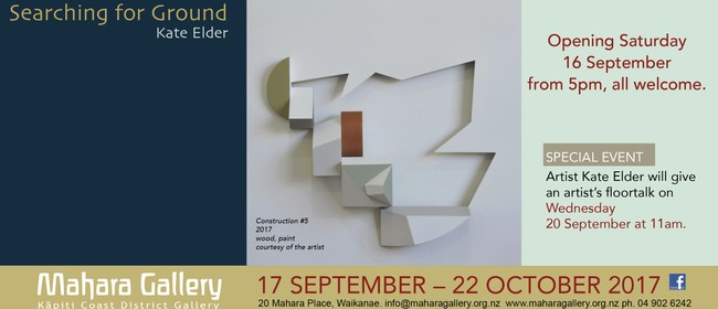 Searching for Ground - Exhibition by Artist Kate Elder