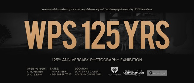 Wellington Photographic Society 125th Anniversary Exhibition