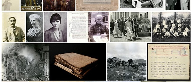 ArchivesNZ's Online Collections