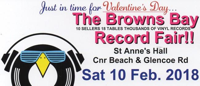 4th Browns Bay Vinyl Record Fair!