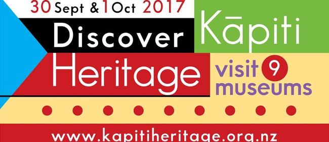 Discover Kāpiti Heritage Weekend